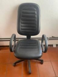 Título do anúncio: Cadeira Rodinhas e suporte de Braço