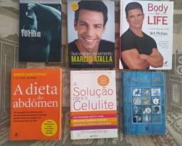 Desapego Livros sobre Saúde, Exercícios, Alimentação e Bem estar