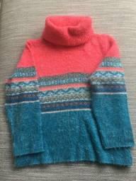 Blusão de lã infantil