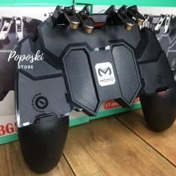 Controle Gamepad Joystick Para Jogar Com O Celular Com Gatilhos R1 L1 R2 L2