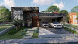 CA05394- Linda casa térrea no condomínio Beira da Mata, amplo quintal, vista de fundo para