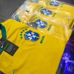 Camisa da seleção brasileira Premium (p ao GG) entrega gratuita para toda João pessoa