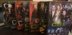 Box DVD CSI  1 a 3 temporada completos.