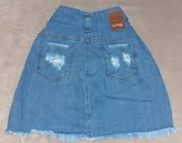 Saia jeans Tam 40/42