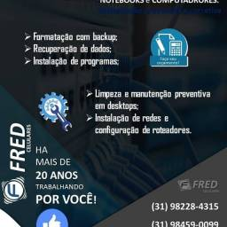 Assistência Técnica Notebook HP