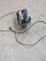 Serra circular pra madeira 220 com transformador 110x220 troco por tv de21ou29