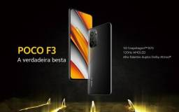 Xiaomi Poco Phone F3 Night Black 5G, Lançamento versão 6GB/128GB (entrego em Ipatinga)