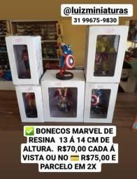 Título do anúncio: Miniaturas Bonecos Marvel