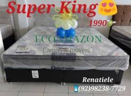 Título do anúncio: Cama Super King Iso Superpocket // MEGA PROMOÇÃO