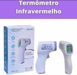 Termômetro digital a laser infravermelho