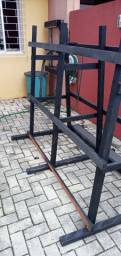 Cavalete para vidros - vidraceiro - vidraçaria