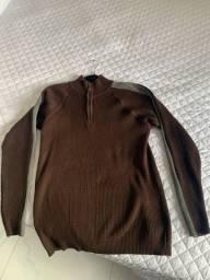 Suéter Marrom TAM G (usado em uma única viagem)