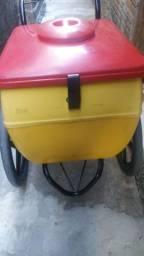 Carro para vender água, sorvete, picolé