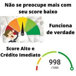 Aumentamos seu score de crédito