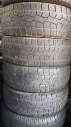Pneus 205/60/16 Pirelli semi novos valor de cada 187.00