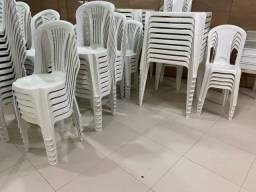 Jogos de mesas de plásticos branca