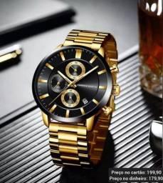 Relógio Masculino Original H.Martin Funcional Alta Qualidade