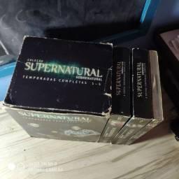Coleção de DVDs Supernatural da 1a a 8a temporada