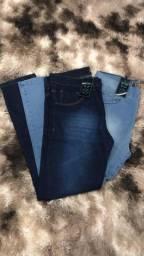 Kit 2 calças Jeans por $ 120,00