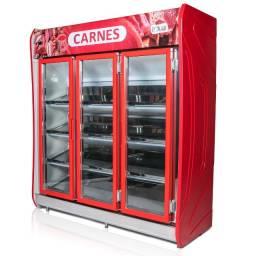 Título do anúncio: Expositor Polar de açougue para carnes 3 portas Novo Frete Grátis