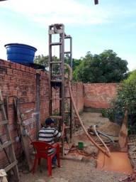 Vende-se máquina de poço semi- artesiano