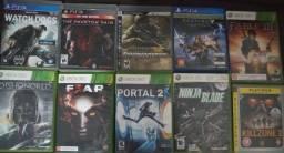 Jogos de PS3, PS4 e Xbox 360