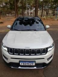 Título do anúncio: Jeep compass longitude 2018 Pack - Premium com 29.000km Branco Pérola