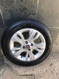 Vendo ou troco Roda 15 pneus novos