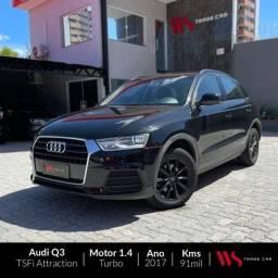 Audi Q3 Tsfi attraction automático 1.4 turbo flex 2017