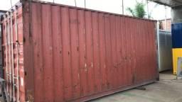 Container 20 pés Dry e 40 pés HC