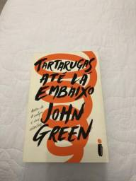Livro Tartarugas até lá embaixo do john green