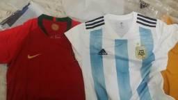 Camisa portugal e argentina copa 2018