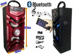Caixa De Som Grasep D-Bh2023 Bluetooth