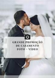 Cobertura fotográfica e vídeo para o seu casamento