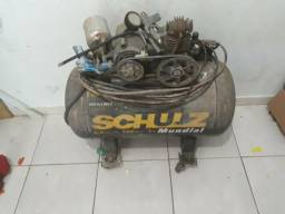 Compressor de marca schulz 100litros