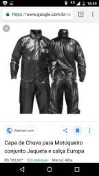 Vende se capa de chuva para motoqueiro