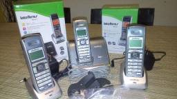 Telefone sem fio Intelbras TS 62 com ramal