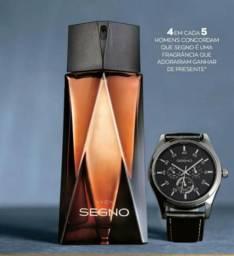 Perfume Ssgno + Relogio