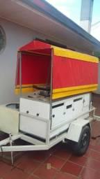 Vende-se carrinho de hot-dog completo