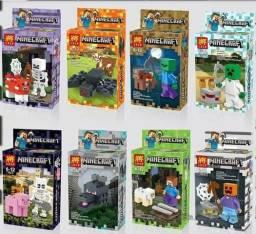 Brinquedos tematicos lego , ninja , minecraft pokemon super herois