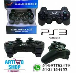 Controle Ps3 Sem Fio Dualshock Playstation 3 Wireless Inova