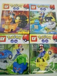 Lego coleção Pokemon na caixa varios modelos
