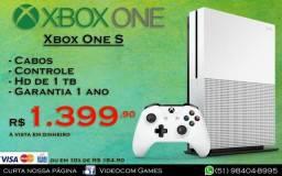 Xbox One 1Tera novo