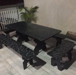 Pra vender rápido mesa nova de ardósia