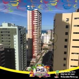 Título do anúncio: Apartamento com 4 suítes para alugar, por R$ 2.800/mês - Manaíra - João Pessoa/PB