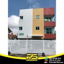 Apartamento com 2 dormitórios para alugar, 55 m² por R$ 1.200/mês - Bancários - João Pesso
