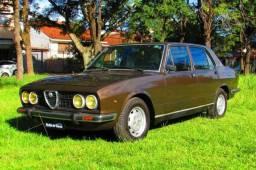 Alfa Romeo Ti 2300 1977 2º Dono desde 1982 - Leia! Ateliê do Carro