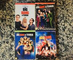 Séries em DVD Big Bang e Supernatural
