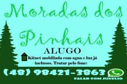 Alugo Kit Mobiliada, Água e Luz Incluso.