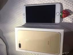 Iphone 7plus/gold sem detalhe